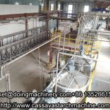 Automatic cassava starch processing line in cassava starch processing plant