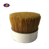 60 percent of natural white bristles.