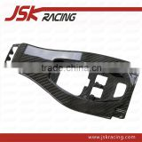 CARBON FIBER INTERIORS TUNNEL VERKLEIDUNG TRIM SWITCHES CENTER CONSOLE FOR FERRARI 458 F142 ITALIA SPIDER(JSK110232)