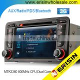 "Erisin ES7047A 7"" Double Din Car Stereo DVD GPS for A3 RNSE-PU S3 RS3"