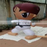 advertising inflatable outdoor Taekwondo cartoon