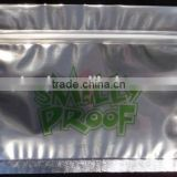 cannabis smell proof clear mylar bags