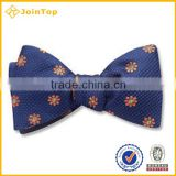 2016 Well selling good quality simple custom bow ties
