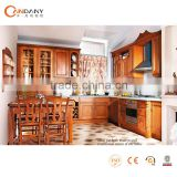 Top modern design high quality solid wood kitchen cabinet,kitchen pantry cupboards