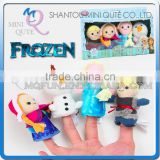 Mini Qute 10 cm 4 in1 Kawaii cartoon stuffed plush Frozen doll princess anna & elsa Creative olaf kids puppet educational toys