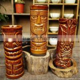 2015 hot sell ceramic Tiki mug for beer drinking wholesale cheap                                                                         Quality Choice