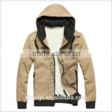 Men's clothing fashion style chain wide sweatshirt with zipper hoodie thin hoodies for sport