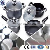 polished aluminium cookware circle, cookware set