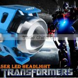 Transformers Body Laser Cannon with U5 U3 LED Hunting LED Head light For Fog Light Focus Light