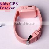 Factory mini child gps tracker bracelet, gps watch tracker for kids, hidden mini gps tracker for person/pet