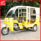 China Three Wheel Gas Scooter Motorcycle 3 Wheel Pedicab Rickshaws Tricycle for Passenger