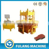 FL150T concrete paving stone mold/ block paving patio/ pavement block making machine