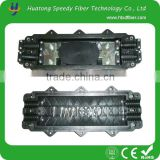 Best price China manufacturer Horizontal type Fiber Optic Splice Closure with two inlets outlets