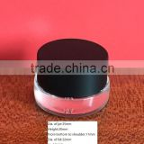2.8g/0.098 OZ glass eye cream jar with black bakelite lid from Guangzhou Glittering Glass