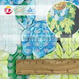 wholesale 100% polyester printed fabric pop art ,lace fabric for dress                                                                                                         Supplier's Choice