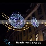 Christmas decoration LED Motif Light/Street led light hanging decor home decor led light