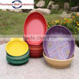 High Quality Bamboo Fiber Tray,Bamboo Fiber Dishes