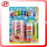 Popular play toys bottle bubble soap bubble