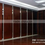 aluminium movable partition wall and mobile home wall paneling acoustic folding partition for library, museum