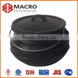 mini cast iron potjie pot/portable wax pot heater/sand blasting pot