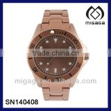 ALLOY CASE STAINLESS STEEL BACK QUARTZ WATCHES-MANY COLOR PLATING ALLOY CASE QUARTZ WATCHES