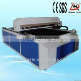 Dowell 1325 hot laser cutting bed/Reci tube laser cutting machine/acrylic cloth plastic co2 laser cut price with CE