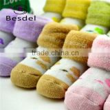 Cute baby terry socks, wholesale baby cotton socks