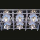 2015 High quality modern led crystal ceiling lamp chandelier for home decoration MX5202-6F