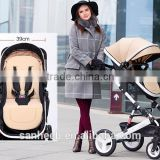 2016 New Style! Summer Deal! 3in1 Luxury City Select High View Anti-Shock Folding Baby Stroller,Travel System Infant Carriag