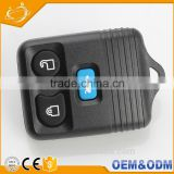 Custom universal 3 bottons universal remote control car keys transponder chip key for ford