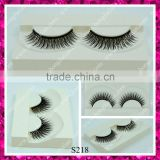 Top quality own brand eyelashes , synthetic fiber lashes