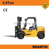 SHANTUI 5Ton Diesel forklift for sale equipment with Chaochai 6102 engine                                                                         Quality Choice
