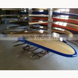 10' Color rail bamboo surf SUP board/ color surf SUP longboard