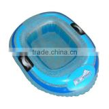 inflatable boat cooler, inflatable floating boat shape ice cooler with rope