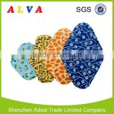 2015 Alva Reusable Washable Female Bamboo Charcoal Menstrual Pad Cloth Sanitary Pad                                                                         Quality Choice                                                     Most Popular