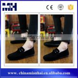 Spring Summer New Casual Red Velvet Loafers Mens Fashion Shoes