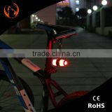 2016 new products led heart shape bike light bike turn signal brake light light for bike
