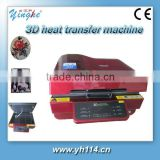 3d vacuum sublimation heat transfer machine for Mug ,T-shirt ,cap,Plate and any shape material etc...