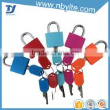 Wholesale brass lock with plastic covered top security safety padlocks designed locks for suitcase                                                                         Quality Choice