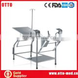 Portable gynecology examination table patient examination bed