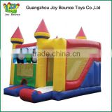 Thomas The Train jumping castle with slide,big bounce house slide inflatable jumping bouncer slide
