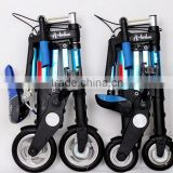 8'' and 10'' mini foldable electric A-bike /new pattern A-bike/ smallest folding A-bike