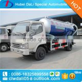 3 CBM Dongfeng 4*2 Sewage suction truck for sale