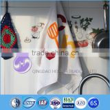 china supplier custom printed terry cloth cotton dish towel