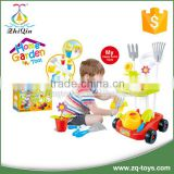 High quality plastic kid garden tool set
