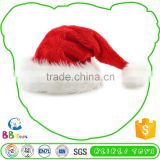 Most Popular Superior Quality Advantage Price Plush Toy Santa Clause Hats