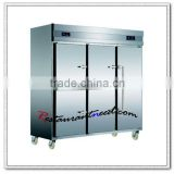 R144 1600L/2000L Tube Style Static Cooling Double-Temperature Reach-In Kitchen Refrigerator & Freezer