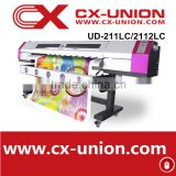 High resolution Galaxy UD 2112Lc advertisement commercial photo plotter dx5 printheads printing machine
