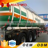 Hot sale brand FUWA 13T axle fuel tanker trailer dimensions Made in China
