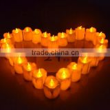 Hot sale LED electronic timing candle lamp/ candle light for Christmas /party/birthday/weddings